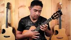 """""""Kiss From a Rose""""on ukulele- Kalei Gamiao"""