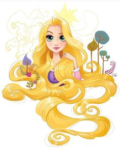 Project for Disney. Sketchy drawings and vector illustrations of Disney Princesses. Disney Rapunzel, Disney Princess Cartoons, Disney Princess Pictures, Disney Princess Quotes, Disney Princess Drawings, Disney Drawings, Tangled Rapunzel, Disney Disney, Disney Quotes
