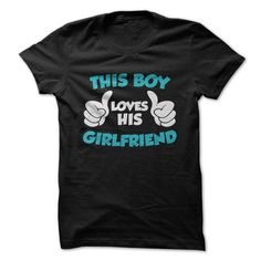 This boy loves his Girlfriend T Shirts, Hoodies. Check price ==► https://www.sunfrog.com/Valentines/This-boy-loves-his-Girlfriend-18008152-Guys.html?41382 $19