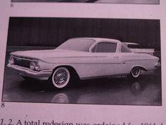 OG | 1961 Chevrolet Impala Coupé Mk3 | Full-size clay mock-up