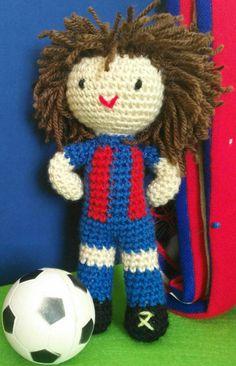 Football amigurumi dolls