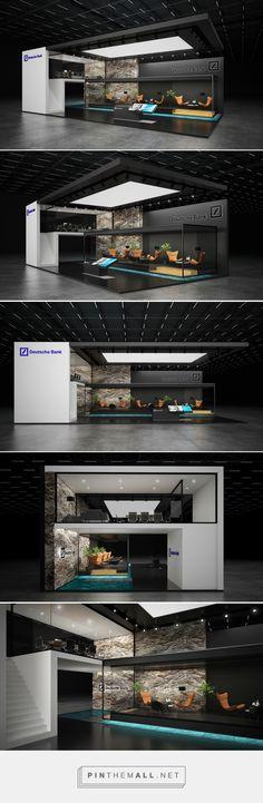 * Deutsche bank *exhibition stand * on Behance - created on 2016-10-20 12:32:30