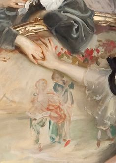 Tumblr: Mrs. Carl Meyer and her Children (detail) by John Singer Sargent