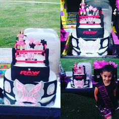 WWE Divas Cake For All Them Little