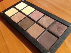 I have fallen in LOVE with INGLOT eyeshadows.  Better than MAC, in my opinion!