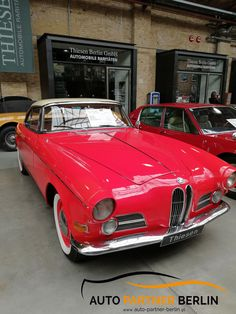 Old Cars, Partner, Vintage Decor, Motor, Berlin, Classic Cars, Old Things, Bmw, Antique Cars