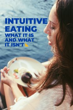 Intuitive eating has become very popular in the last year or so — so much so that it is being misconstrued by dieting and wellness companies and influencers. To set the record straight, I'm here to explain what intuitive eating really is and why it isn't another diet or trend. Wellness Company, Isn, Intuitive Eating, What You Eat, Eat Healthy, Intuition, Healthy Lifestyle, Popular, Popular Pins