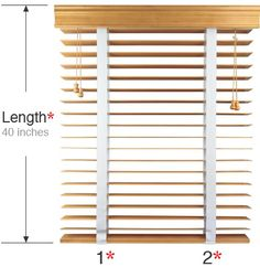 How to replace the tape on blinds.