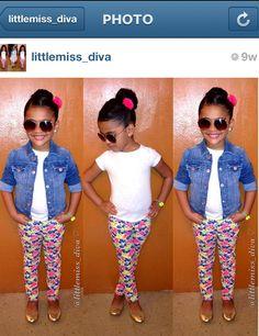 Kid fashionista #teamkaylee