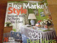 Flea Market Makeovers | Flea market style magazine it's finally here!