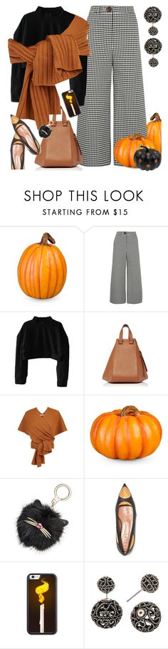 """October"" by petalp ❤ liked on Polyvore featuring Improvements, A.W.A.K.E., Loewe, TIBI, Kate Spade and Marni"