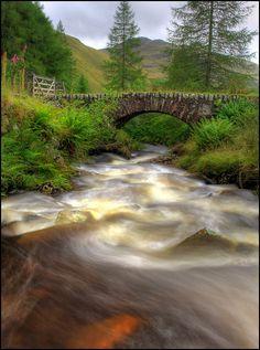 Down River - Smaglen - Summer in Scotland