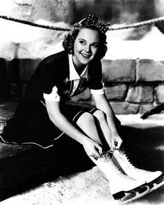 The Queen of the Ice - 1928, 1932, and 1936 Ladies Olympic Figure Skating Champion, Sonja Henie
