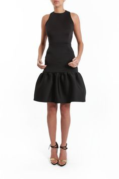 Kirsty Doyle Black Neo-structure Dress