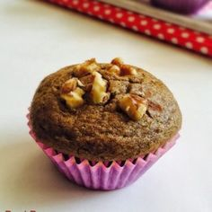 Ragi banana muffins - no fuss,muffins recipe with ragi aka finger millet flour, bananas and walnuts Baby Food Recipes Stage 1, Indian Baby Food Recipes, Healthy Muffin Recipes, Healthy Muffins, Ragi Recipes, Toddler Meals, Toddler Food, Baby Muffins, Vegetarian Kids