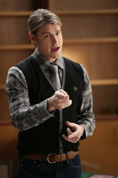 Sam performs in the New Directions episode of GLEE. 5x13