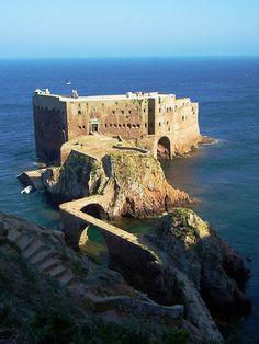 Forte de São João Baptista, ilha das Berlengas, Peniche, Portugal