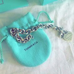 Tiffany Bracelet Never worn or cleaned. Cleaning cloth was never used.  Price is FIRM. Bundle discount does NOT apply to this item. Tiffany & Co. Jewelry Bracelets