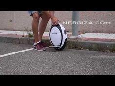 Un mes en monociclo eléctrico: el FastWheel EVA - YouTube