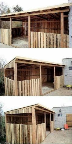 Old Pallets, Recycled Pallets, Wooden Pallets, Wooden Diy, Recycled Materials, Wooden Signs, Pallet Shed, Pallet House, Pallets Garden
