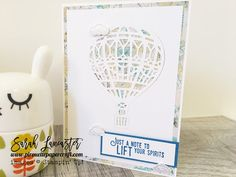 sneak peek of the Lift Me Up bundle coming soon !! #stampinup more photos and details on my blog | Sarah Lancaster pirouette papercraft