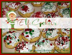 Elf Cookies - Enchanted Homeschooling Mom