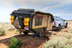 Hard Core Off-Road Travel Trailer? Conqueror Campers Available in North America!