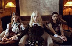 Andy, Cissa and Bella
