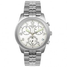 T34.1.488.32 Silver Gents Chronograph Watch - Image 1 of 2