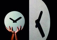 Orologio in Ecodesign in cartone funzionante