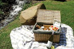 """Nothing says """"summertime and the living is easy"""" like an alfresco feast. These are our favourite picnic spots in Cape Town and surrounds. Picnic Spot, Picnics, Cape Town, Summertime, Basket, Outdoor, Ideas, Gourmet, Outdoors"""