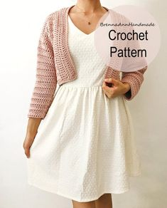 Unique Crochet, Beautiful Crochet, Easy Crochet, Crochet Ideas, Crochet Tops, Crochet Cardigan Pattern, Afghan Crochet Patterns, Crochet Patterns For Beginners, Crochet Basics