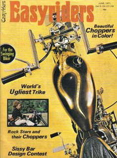 vintage easyriders magazine | Easyriders World's largest-selling Motorcycle Magazine for men.