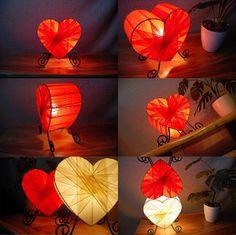 HeartLamp-orange