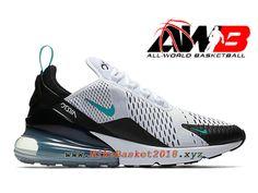 brand new 9be43 d0eb3 Chaussures Officiel 2019 Pas Cher Pour Homme Nike Air Max 270 Blanc Noir  AH8050-001