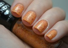 "The Manicured Amateur: Hard Candy ""Peach Pop"" @Hard Candy Cosmetics"