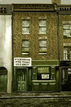 Vintage photograph of 29 Hanbury Street, site of the murder of Annie Chapman on 8 September 1888, Jack the Ripper's 2nd victim