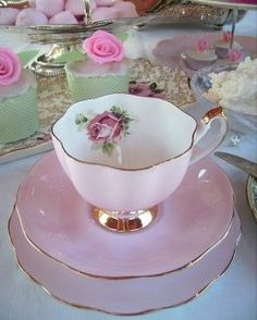 The Vintage Table - Vintage High Tea ~ Vintage China & Silver Ware Hire - Perth. Tea Cup Set, My Cup Of Tea, Tea Cup Saucer, Tea Sets, Vintage High Tea, Vintage China, Vintage Table, Vintage Teacups, French Vintage
