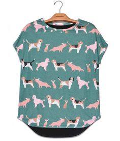 Camiseta Prima Cachorrinho. Veja mais em nosso site de compras online: Usenatureza.com