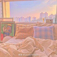 Room Ideas Bedroom, Bedroom Inspo, Bedroom Decor, Dream Rooms, Dream Bedroom, Cute Room Ideas, Kawaii Room, Indie Room, Minimalist Room