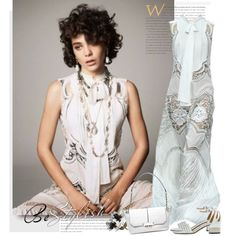 A fashion look from May 2015 by sella103 featuring Roberto Cavalli