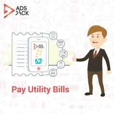 Good news for AdsJack users..You can now encash your Jackpoints into MobiKwik and pay utility bills.
