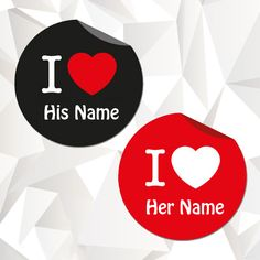 Write couple name on i love heart profile pix