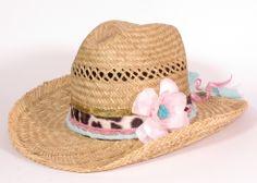 Prachtige handgedecoreerde Ibiza style hoed. Vanaf €34,95