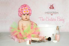 Little Daisy Hat from The Couture Baby