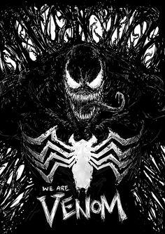 terror: We are Venom! Marvel Comics, Venom Comics, Marvel Venom, Marvel Villains, Marvel Memes, Marvel Characters, Marvel Avengers, Venom Art, Marvel Wallpaper