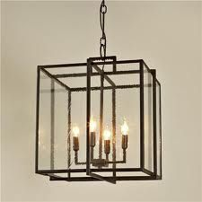 Double Cube Frame Lantern