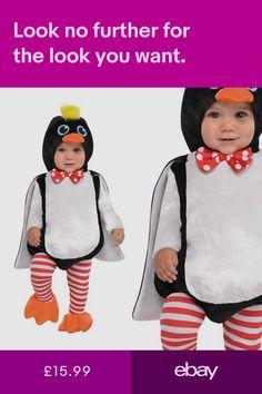 c544be0f0b0b Baby Penguin Zoo Animal Bird Cute Girls Boys Book Week Kids Fancy Dress  Costume