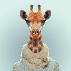 Yago Partal: Zoo Portraits | Trendland: Fashion Blog & Trend Magazine