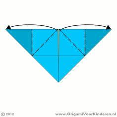 Site met leuke Origami voorbeelden stap voor stap uitgelegd, bloemen, boten etc. Leuk!!